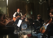 Tony George and string quartet