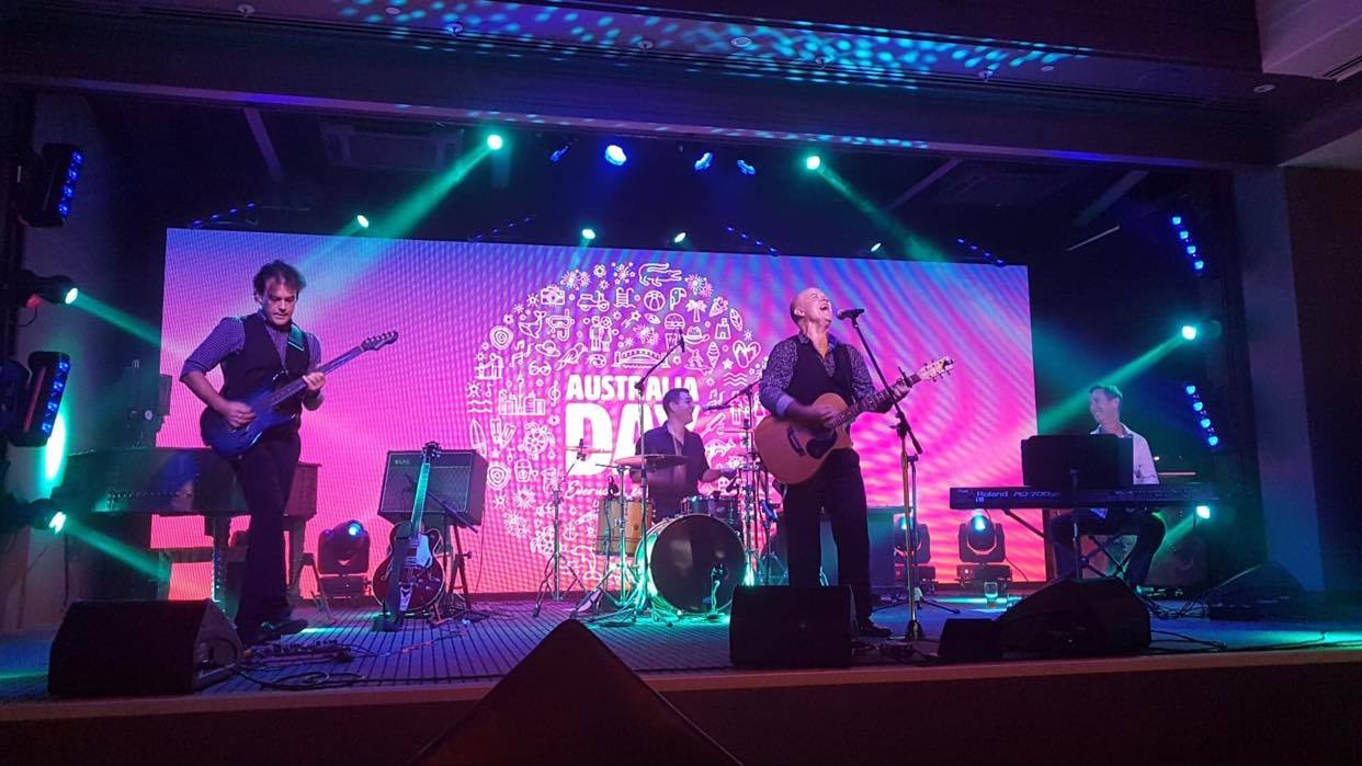 Tony George Entertainment Reef Hotel Casino 4 Piece Band for events