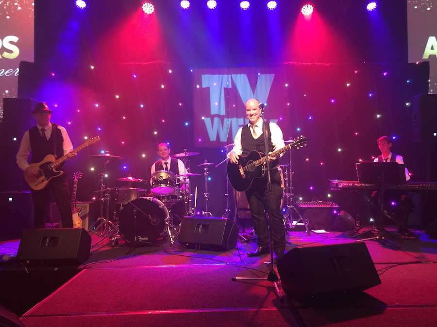 Tony George Band at conference gala awards night
