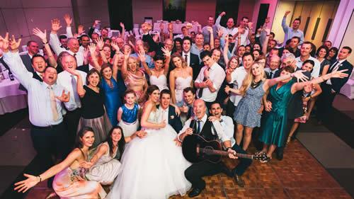 Tony George at Cairns Hilton wedding