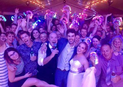 Tony George Band at Ellis Beach Wedding
