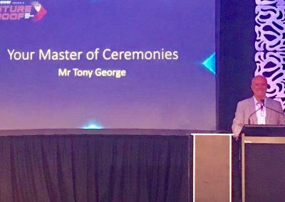 Tony George Tyrepower Conference MC