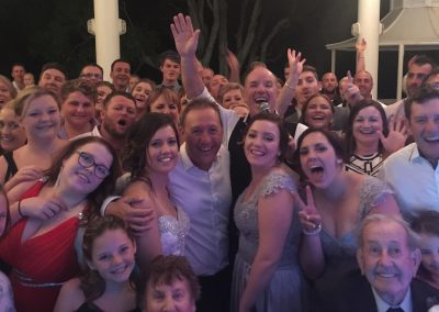 Tony George at a Palm Cove wedding